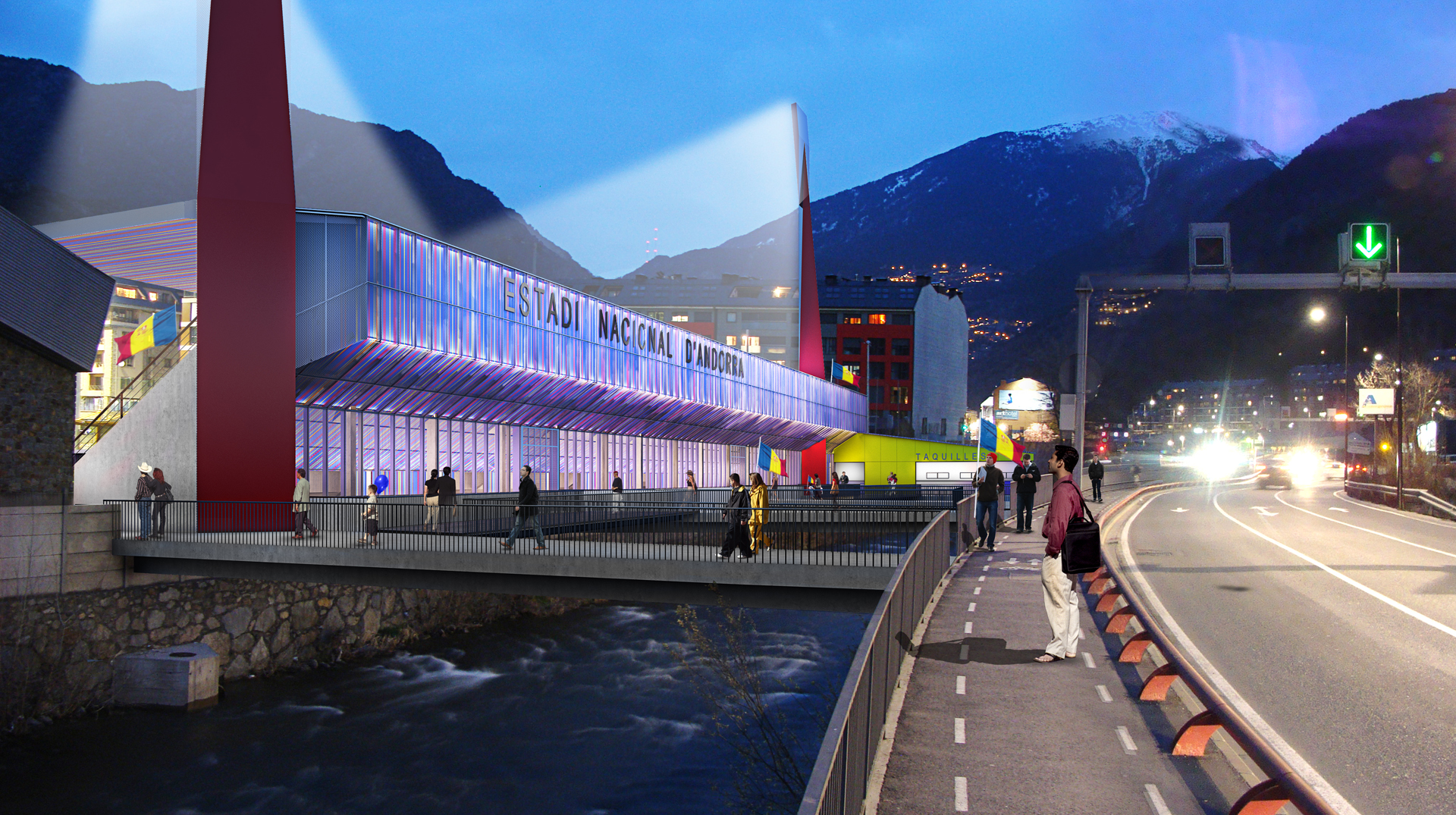 Andorra National Stadium Competition