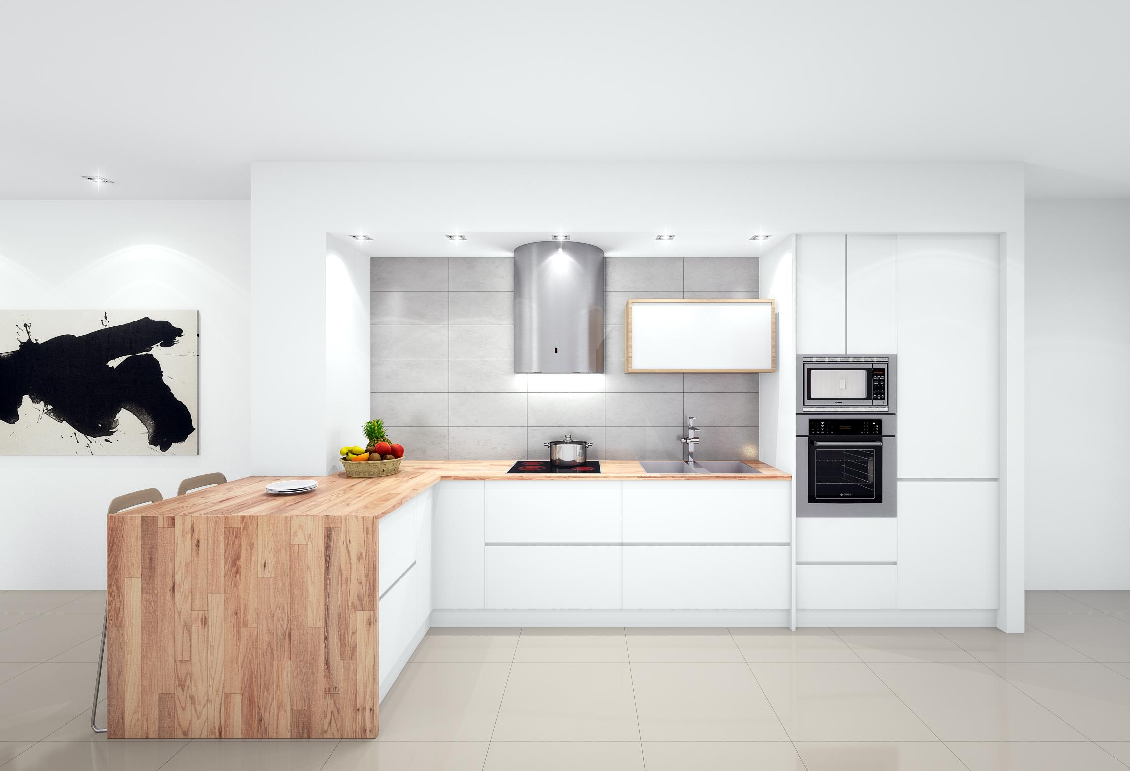 Kitchen reno, Hopitalitalet de Llobregat