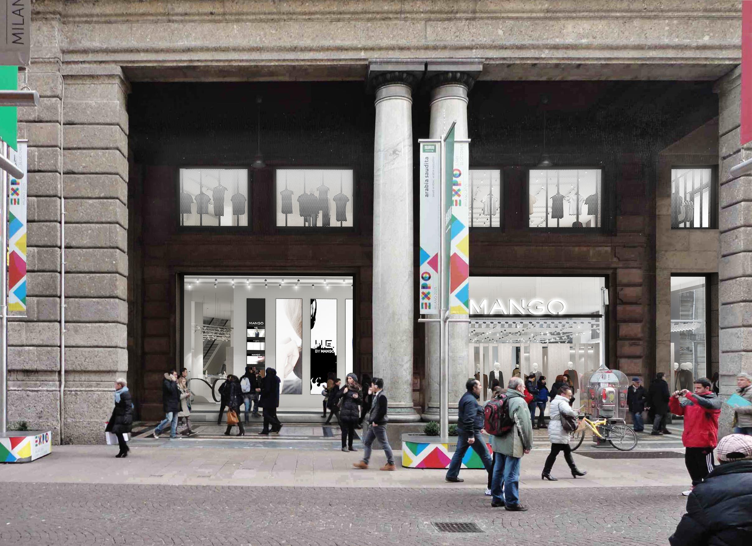 MANGO Milano Mondadori